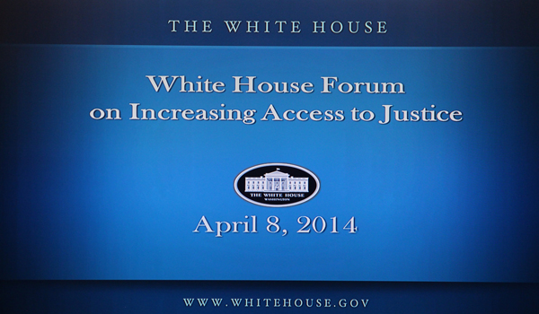 image White House Access to Justice