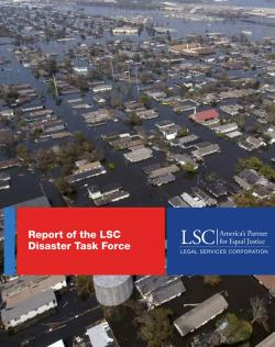 LSC Disaster Task Force Report